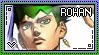 JJBA: Kishibe Rohan Stamp by whitenoize