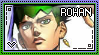 JJBA: Kishibe Rohan Stamp by whitenoize