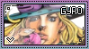 JJBA: Gyro Zeppeli Stamp by whitenoize