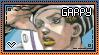 JJBA: Higashikata Josuke 'Gappy' Stamp by whitenoize