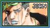 JJBA: Higashikata Jobin Stamp by whitenoize