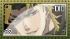 JJBA: DIO Stamp by whitenoize