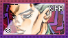 JJBA: Yoshikage Kira (Bites The Dust) Stamp by whitenoize