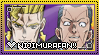 JJBA: Nijimura Kyoudai Fan Stamp by whitenoize