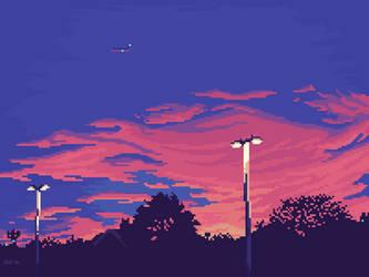 Nightfall by 5ldo0on