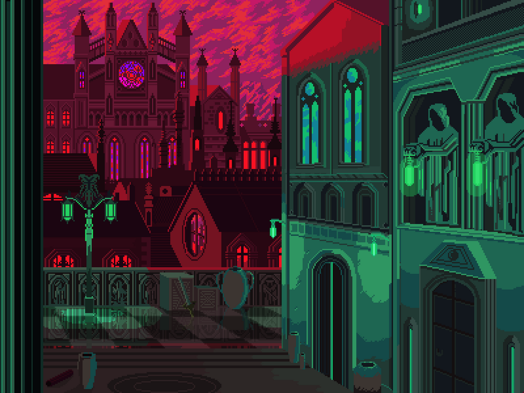 Gothic city by 5ldo0on