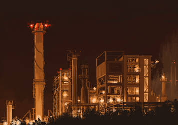Industrial glow part 1 by 5ldo0on