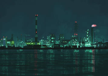 Industrial glow part 2 by 5ldo0on