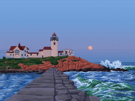 Eastern Point Lighthouse - Gloucester, MA.