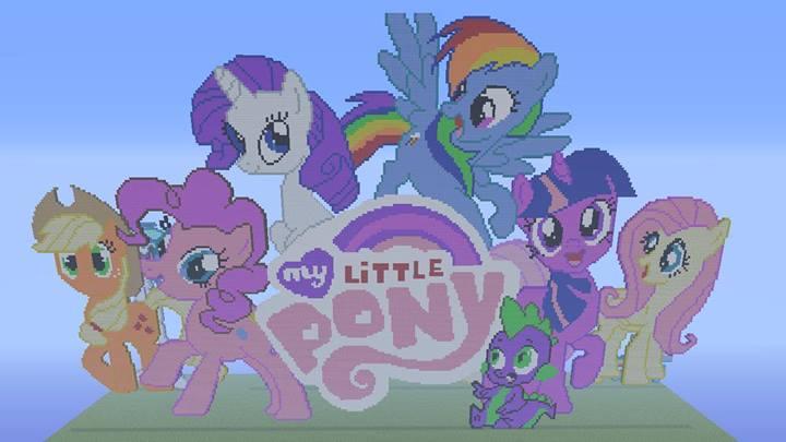 my little pony pixel art by kfchickenfuzznuts on deviantart