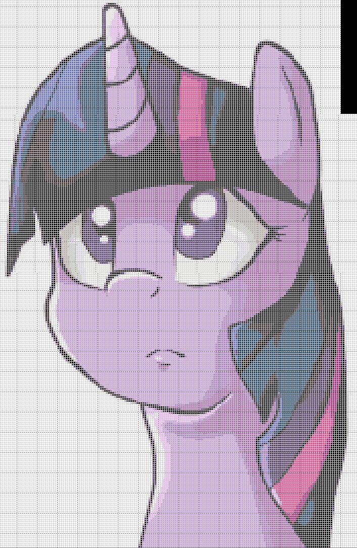 Twilighto Sparukaru Pixel Art Template By KFChickenFuzzNuts ...