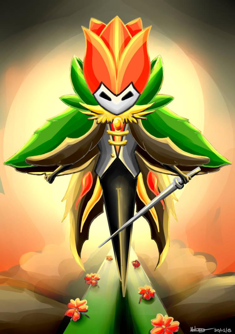 Flower Knight by Pokenoll