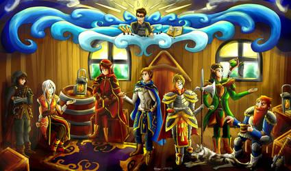 The Adventure awaits ! by Pokenoll