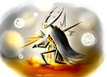Hollow Knight by Pokenoll