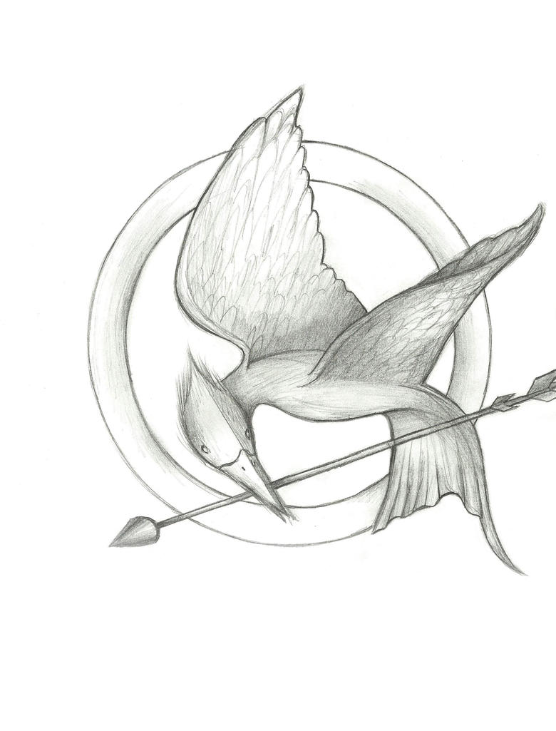 Hunger games coloring pages online - Hunger Games Colouring Pages Page 3
