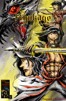 The Ryukage - Comic Issue 1 Cover