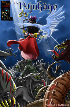 The Ryukage - Comic Issue 3 Cover