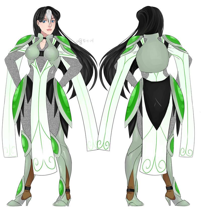 Rya's Armor Concept by FoxOfTwilight