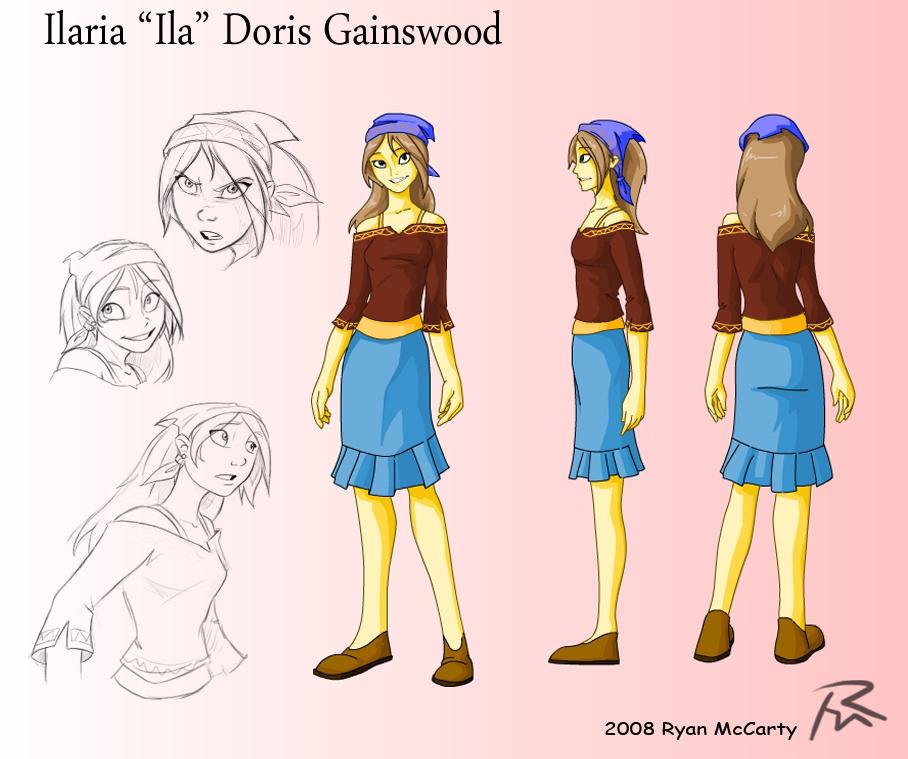 Character Design University Canada : Ila character design by didj on deviantart