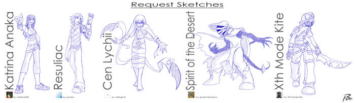 Request Sketches by Didj