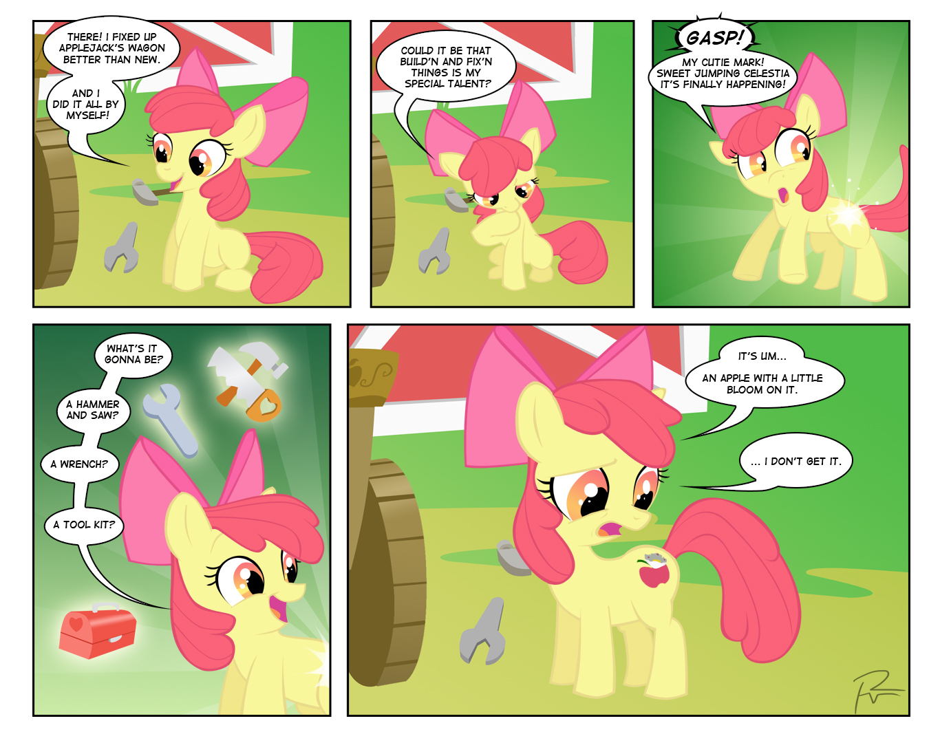Applebloom Comic by Didj