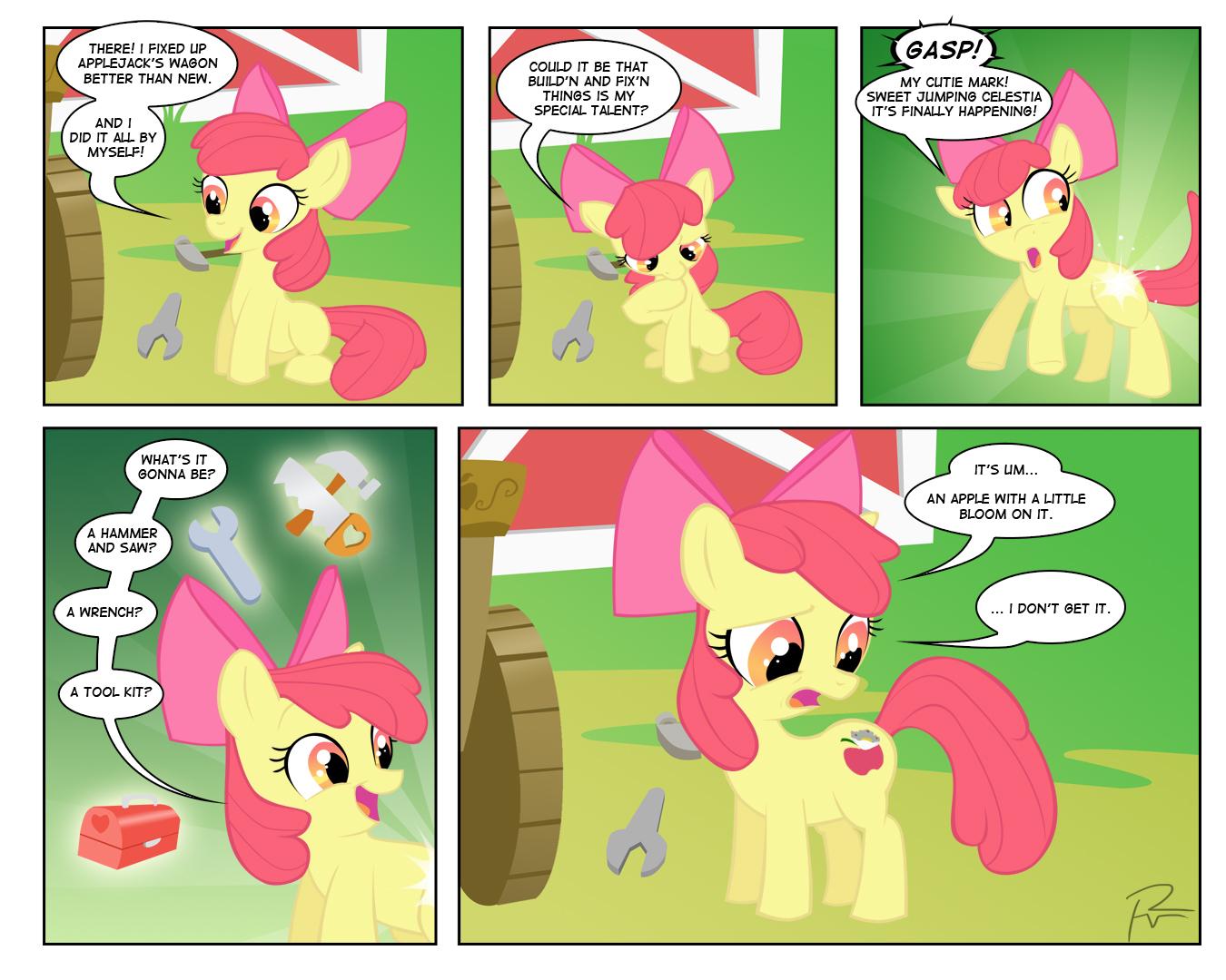 Applebloom Comic by Didj