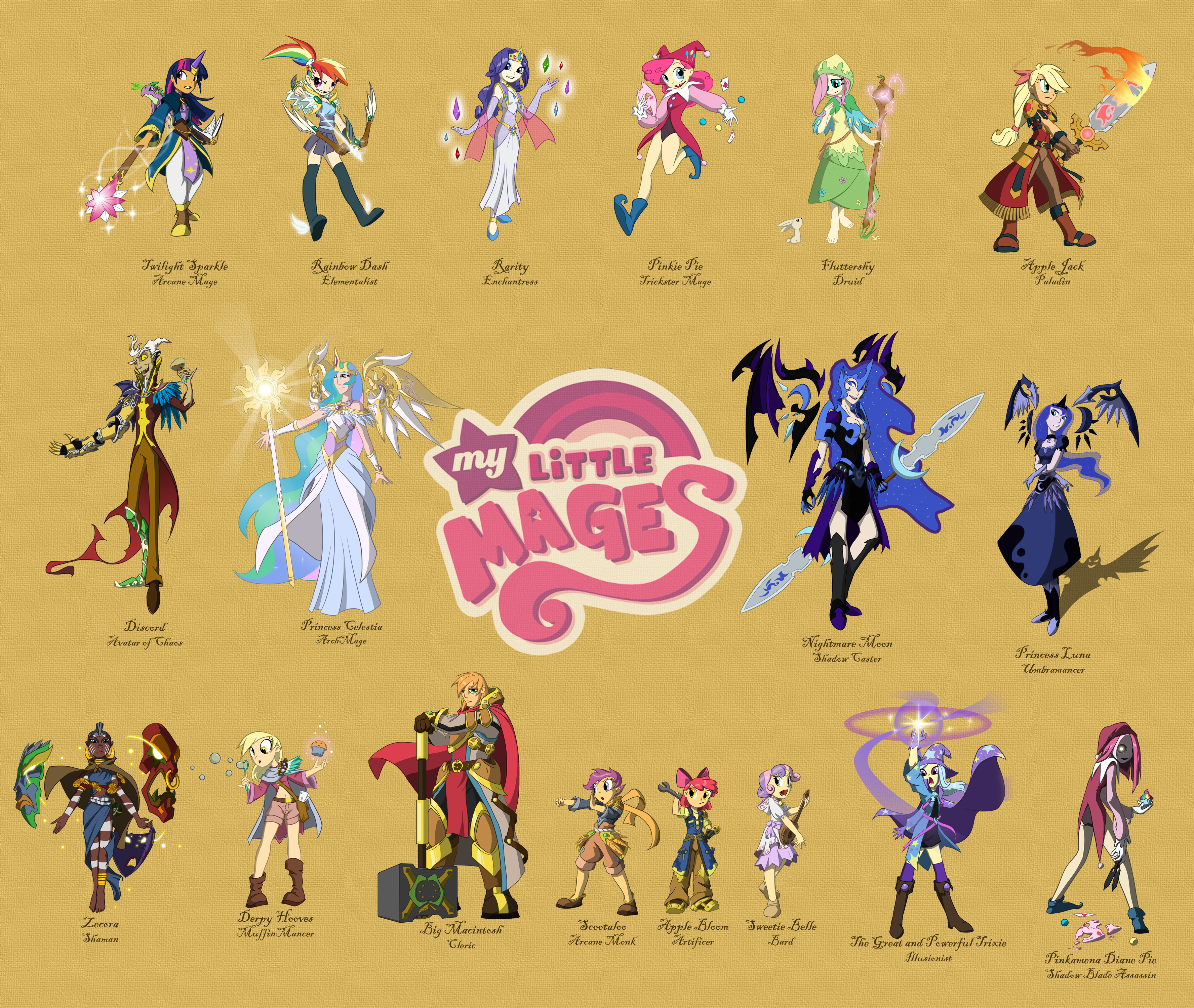 My Little Mages Complete by Didj