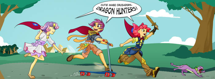 My Little Mages: CMC Dragon Hunters by Didj