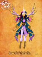 My Little Mages: Princess Twilight Sparkle by Didj