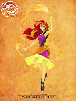 My Little Mages: Sunset Shimmer