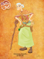 My Little Mages: Granny Smith by Didj