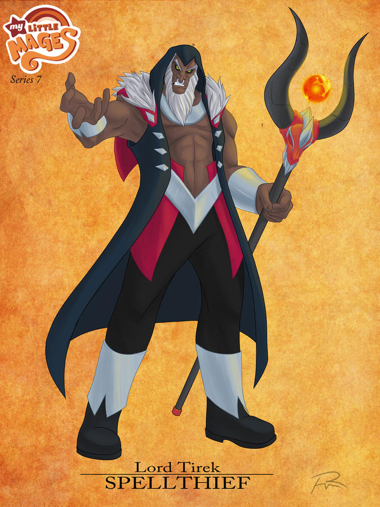 My Little Mages: Lord Tirek by Didj
