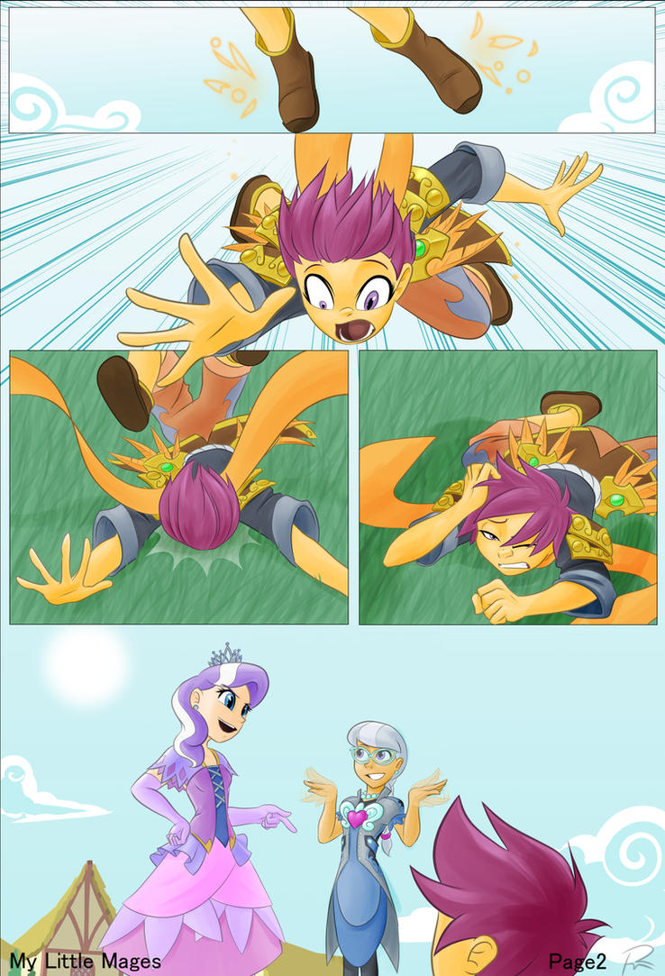 MLP Scootaloo Comic- Page 2 by Didj
