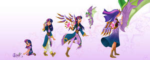 My Little Mages- Growing up Together
