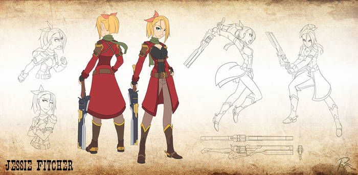 Character design- Jessie Fitcher