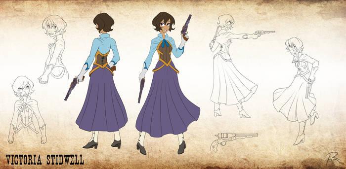 Character design- Victoria Stidwell