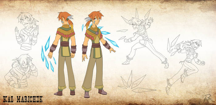Character Design- Kaz Marichek