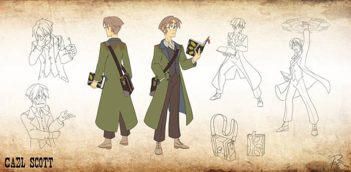 Character Design- Cael Scott