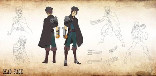 Character Design- Mad Jack