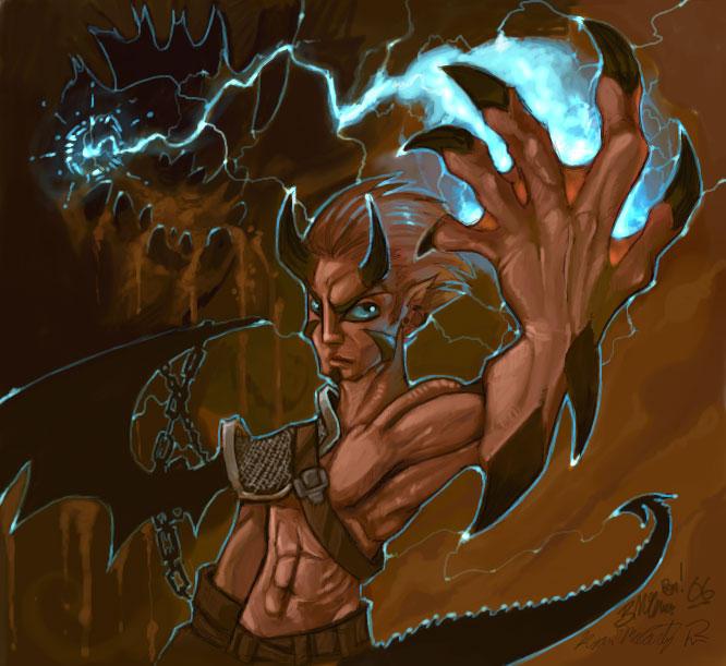 Half Dragon by Didj on DeviantArt