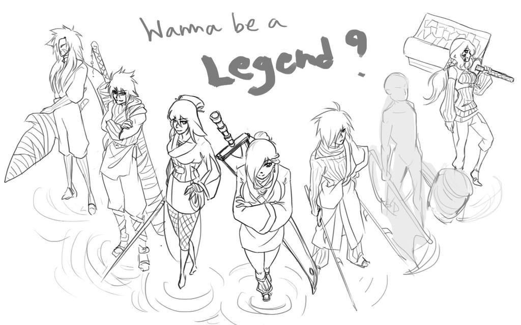 Wanna be a Legend? by cielo-the-sky