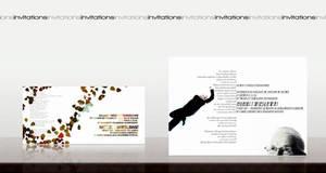 Two wedding invitations by likanos