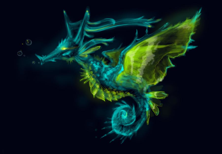 Kingdra by ShadowCorvus