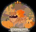 Halloween Advent Day 1 - Autumn Fawn