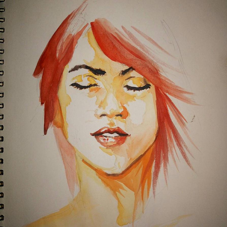 redhead by aoi-yeux