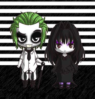 Beetlejuice and Lyds by ScorpionsKissx