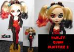 Harley Quinn Injustice 2 custom doll