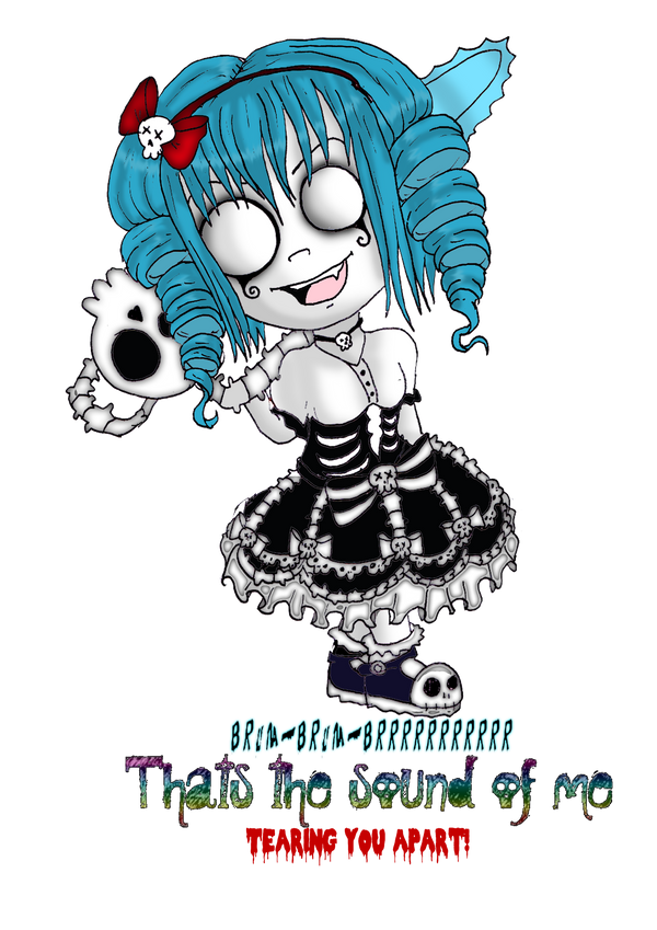Lila Chibi by Little-Horrorz