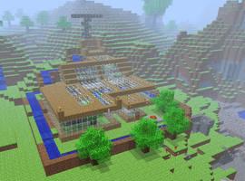 MineCraft House by Sero-Cheat
