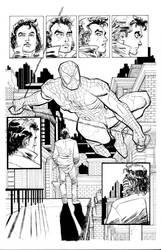 Spider-Man Romita JR. Inks by Robo-Bug